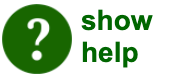 green help button - click to open or close hidden help